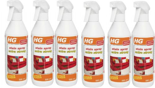 HG Stain Spray Extra Strong for Carpets & Upholstery 500ml Pack of 6
